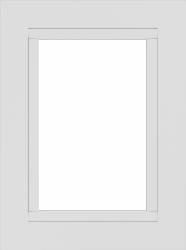 WDMA 18x24 (17.5 x 23.5 inch) Vinyl uPVC White Picture Window without Grids-2