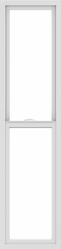 WDMA 18x72 (17.5 x 71.5 inch) Vinyl uPVC White Single Hung Double Hung Window without Grids Interior