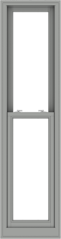 WDMA 20x78 (19.5 x 77.5 inch)  Aluminum Single Double Hung Window without Grids-1