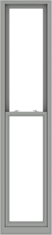 WDMA 24x108 (23.5 x 107.5 inch)  Aluminum Single Double Hung Window without Grids-1