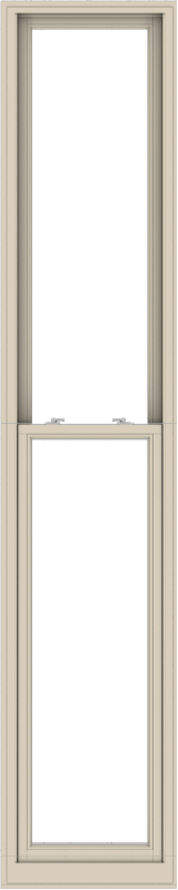 WDMA 24x120 (23.5 x 119.5 inch)  Aluminum Single Hung Double Hung Window without Grids-2