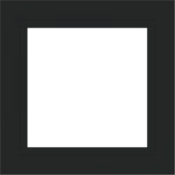 WDMA 24x24 (23.5 x 23.5 inch) Vinyl uPVC White Picture Window without Grids-6