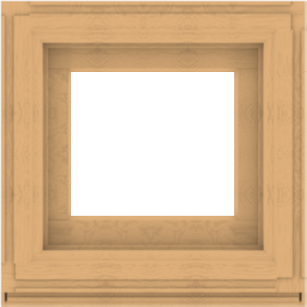 WDMA 24x24 (23.5 x 23.5 inch) Composite Wood Aluminum-Clad Picture Window without Grids-3