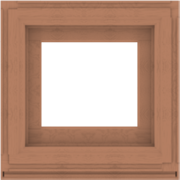 WDMA 24x24 (23.5 x 23.5 inch) Composite Wood Aluminum-Clad Picture Window without Grids-4