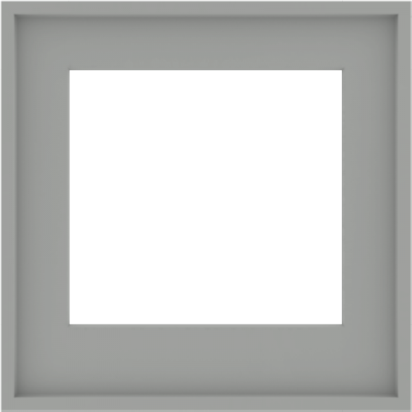 WDMA 24x24 (23.5 x 23.5 inch) Composite Wood Aluminum-Clad Picture Window without Grids-5