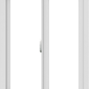 WDMA 24x30 (23.5 x 29.5 inch) Vinyl uPVC White Slide Window without Grids Interior