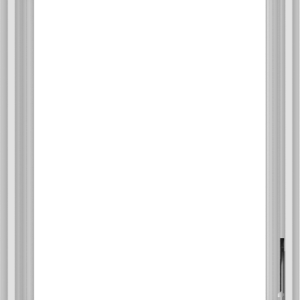 WDMA 24x32 (23.5 x 31.5 inch) White Vinyl uPVC Crank out Casement Window without Grids Interior