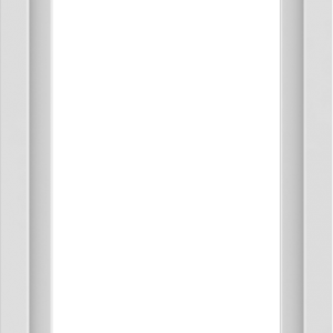 WDMA 24x42 (23.5 x 41.5 inch) Vinyl uPVC White Picture Window without Grids-1