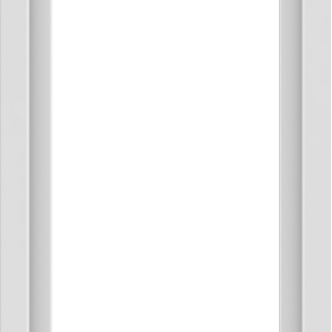 WDMA 24x54 (23.5 x 53.5 inch) Vinyl uPVC White Picture Window without Grids-1