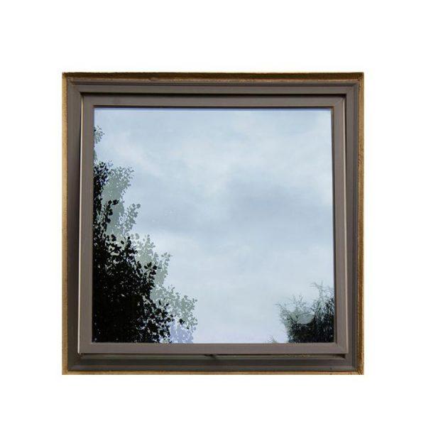 WDMA 60 X 60 Aluminum Awning Stained Glass Windows
