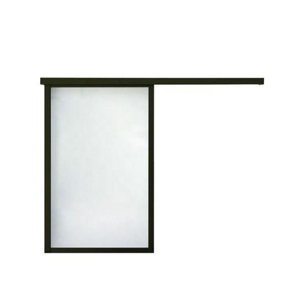 China WDMA 8 Ft Aluminium Hanging Barn Sliding Glass Door System Interior Room Divider For Dining Room Living Room Design Price