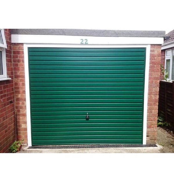 China WDMA Frosted Glass Garage Door