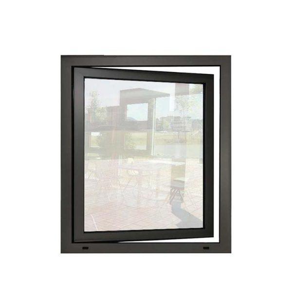 China WDMA Affordable Tempered Smart Glass Aluminum Frame Casment Windows