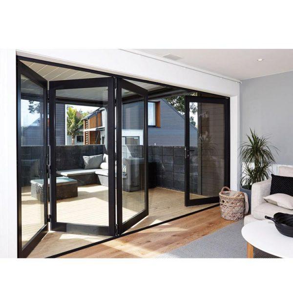 WDMA Florida approval folding door Aluminum Folding Doors