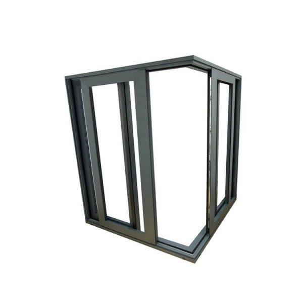China WDMA Aluminium Alloy Partition Louvre Louver Shutter Sliding Door For Patio