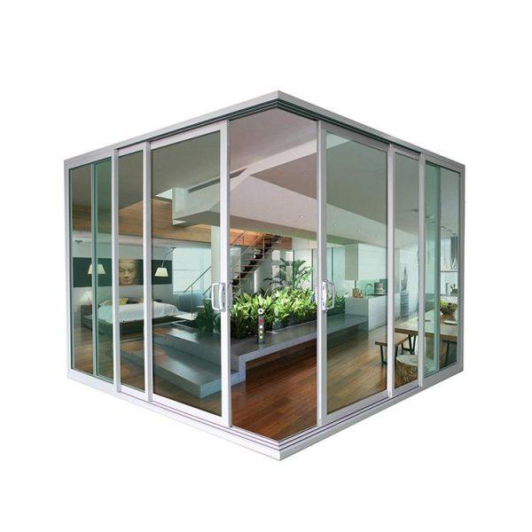 China WDMA aluminium sliding door patio Aluminum Sliding Doors