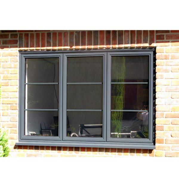 China WDMA Aluminium Casement Jalousie Window With Sub Frame