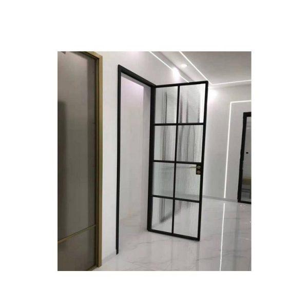 China WDMA Aluminium Double Swing Door Gate Glass Door For Bathroom Price In Sri Lanka