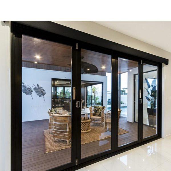 WDMA soundproof door Aluminum Folding Doors
