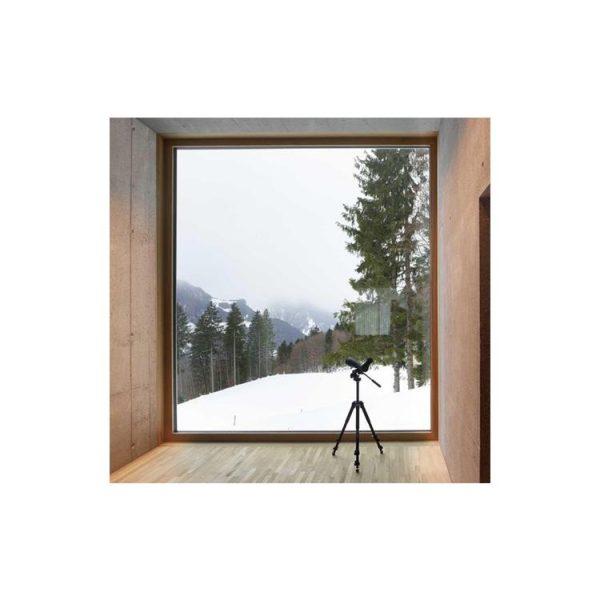 China WDMA Aluminium Glass Corner Window Design L Shaped Window Corner Butt Joint Glass Window