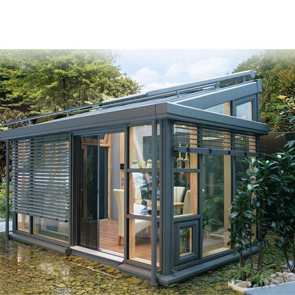 WDMA Aluminium Glass Sunroom For Solarium