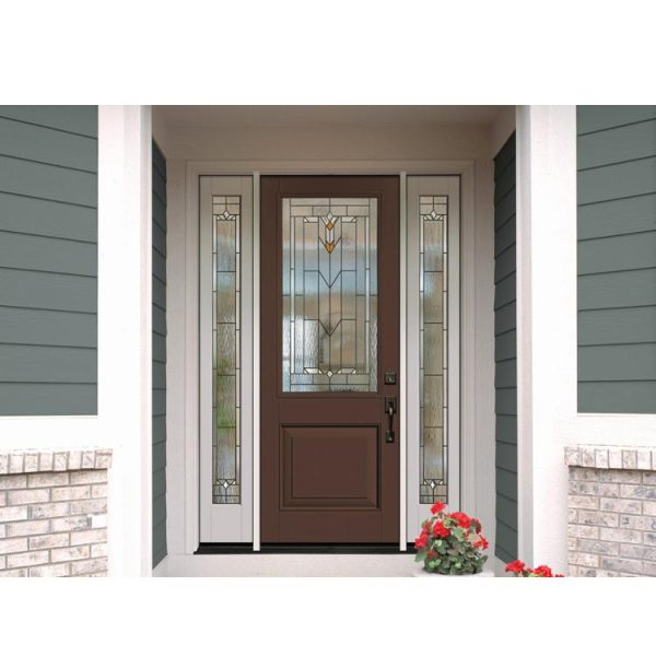 WDMA Aluminium Door For Bathroom
