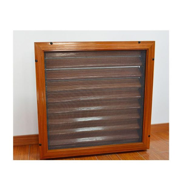 WDMA Metal Louver Window