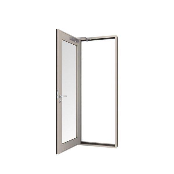 China WDMA Iron Glass Door