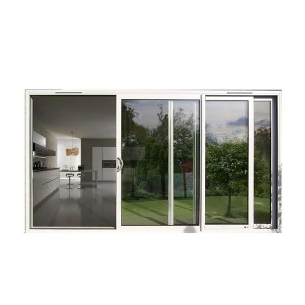 China WDMA automatic sliding door system Aluminum Sliding Doors