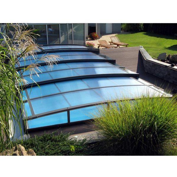 WDMA aluminium retractable swimming pool covers