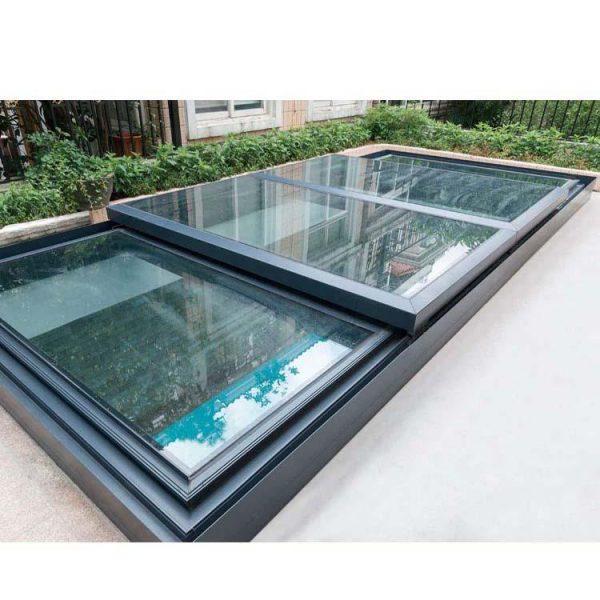 China WDMA roof window balcony Aluminum Skylight Window