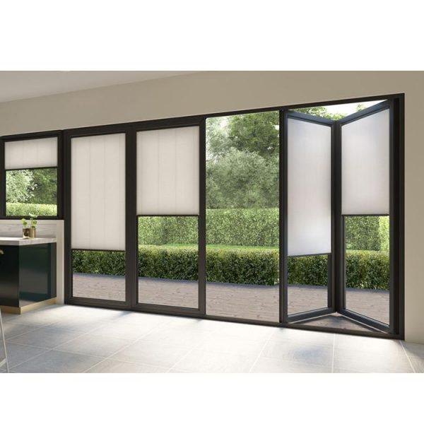 WDMA Aluminium Soundproof Balcony Bifold Door