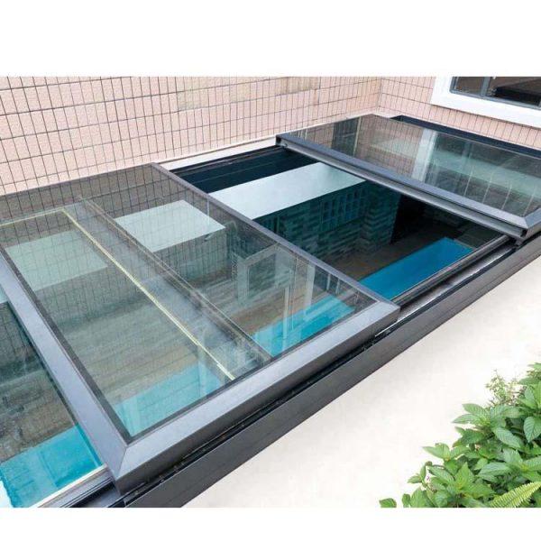 China WDMA aluminum window price Aluminum Skylight Window