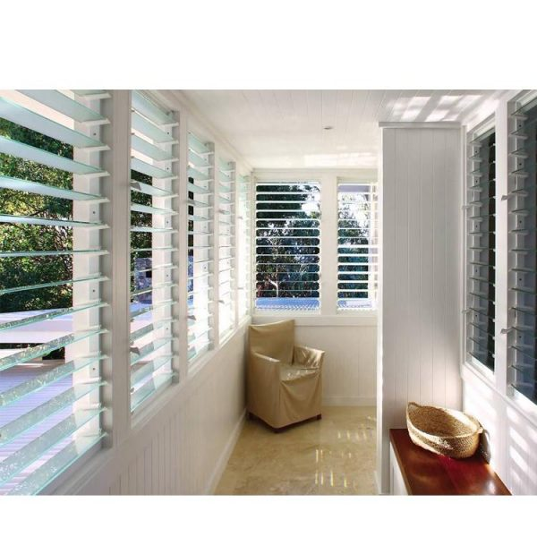 WDMA glass louvre windows Aluminum Casement Window