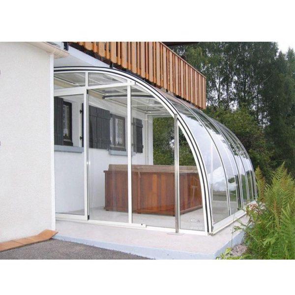 China WDMA Aluminum Frame Sunroom