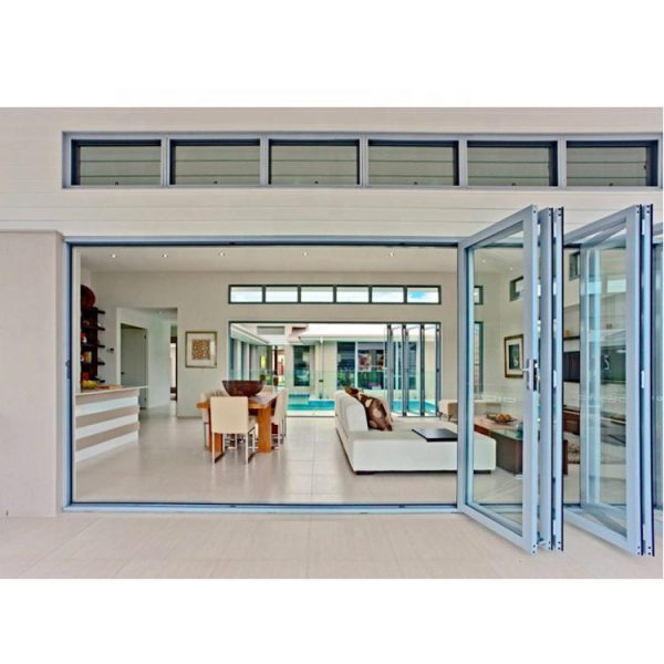 China WDMA Aluminum French Doors Exterior