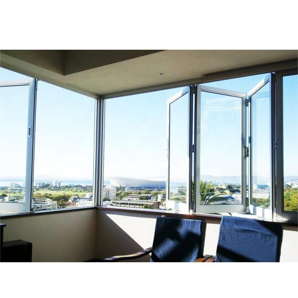 WDMA Aluminum Folding Window