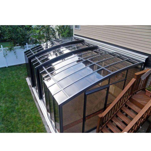 WDMA Aluminum Portable Sunroom In Outside