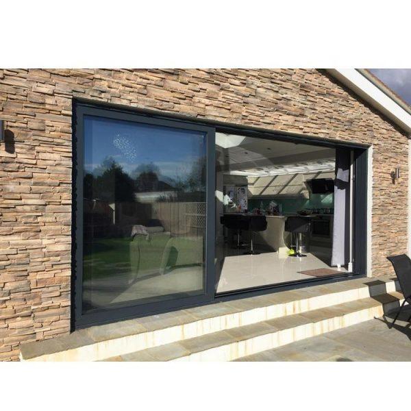 China WDMA Aluminum Sliding Patio Door Aluminium Sliding Glass Doors For Hot Sale