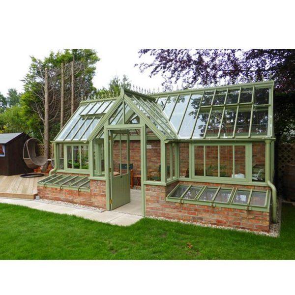 WDMA Aluminum Sunroom Portable Garden Glass House