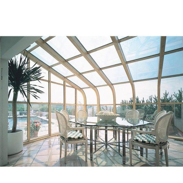 WDMA garden glass house Aluminum Sunroom