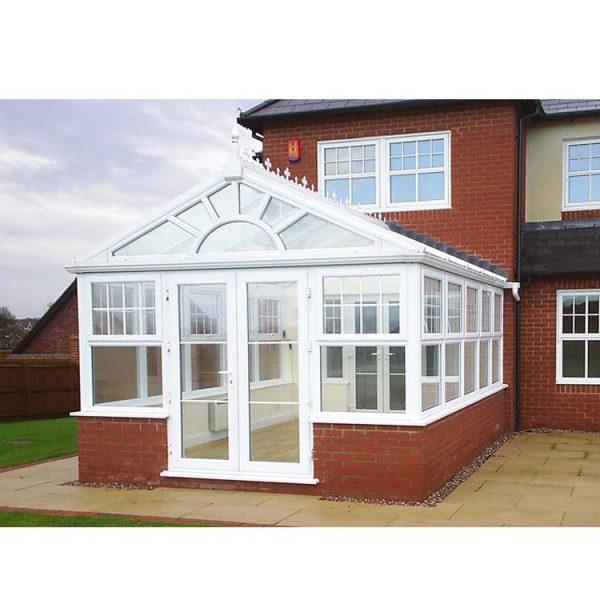 China WDMA Aluminum Sunroom Portable Garden Glass House