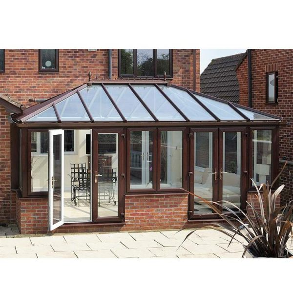 China WDMA garden glass house Aluminum Sunroom