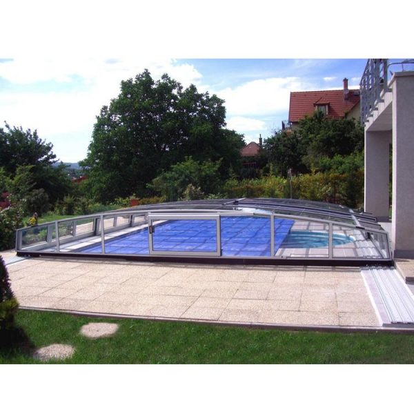 WDMA polycarbonate low level pool enclosure