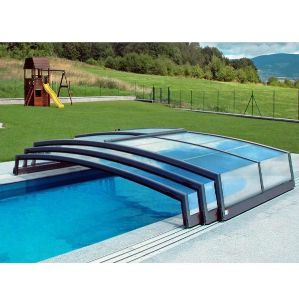 China WDMA polycarbonate low level pool enclosure