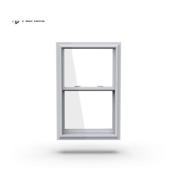 China WDMA American Style Aluminum Wood Window Wood Clad Aluminum windows Single Hung Window