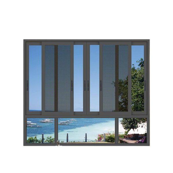 WDMA glass louvre windows