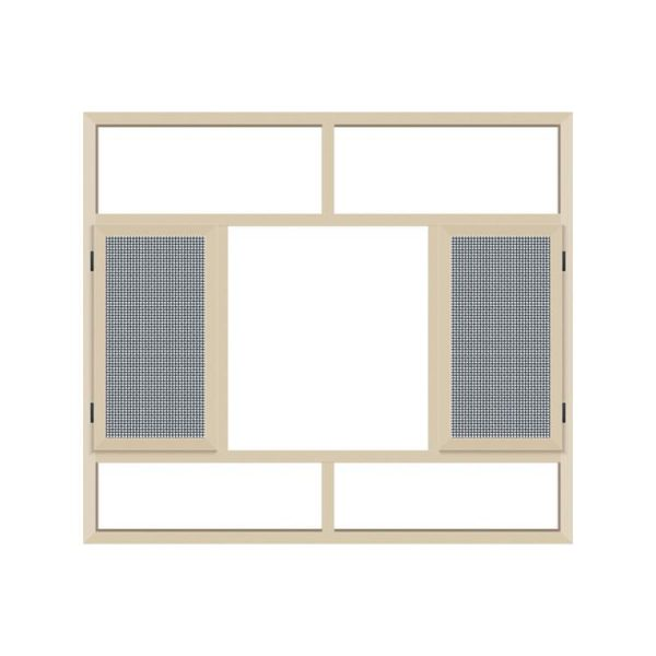 WDMA aluminium fabrication window Aluminum Casement Window