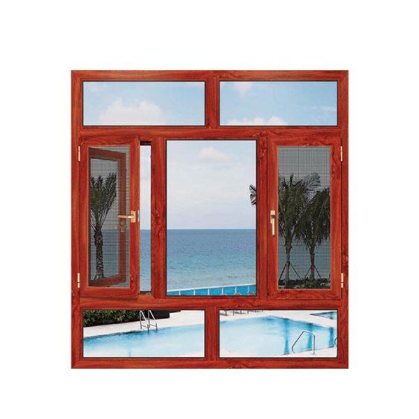 China WDMA Apartment Window Arch Design Double Glass Aluminium French Bay Door Window Price