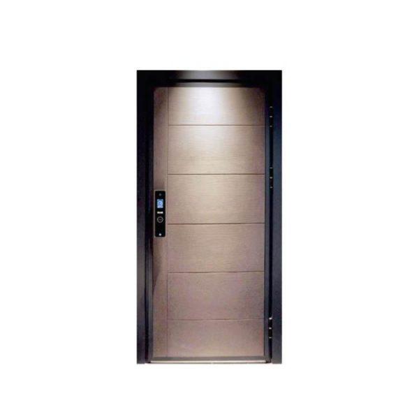 WDMA Arch Aluminium Extrusion Sandwich Panel Patio French Security Door Balcony